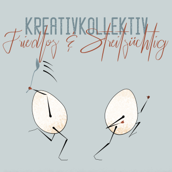 Kreativk Friedlos und Streitsüchtig Logo