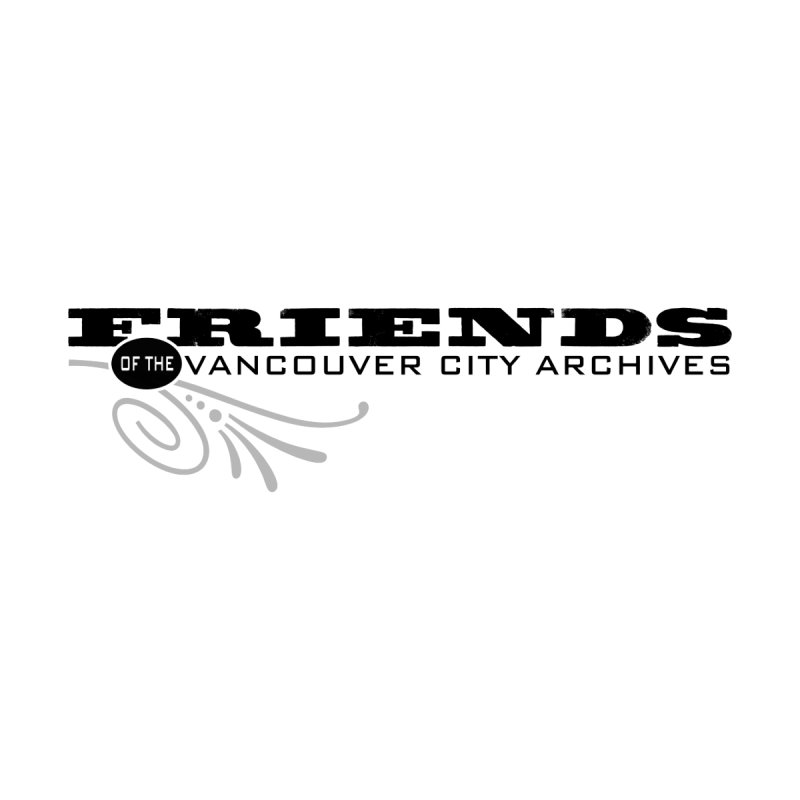 Friends logo by Friends of the Vancouver City Archives Shop