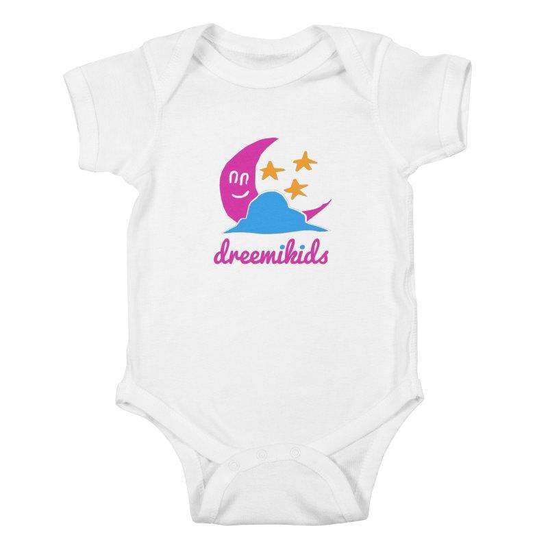 dreemikids Kids Baby Bodysuit by frikkinmunki's Artist Shop