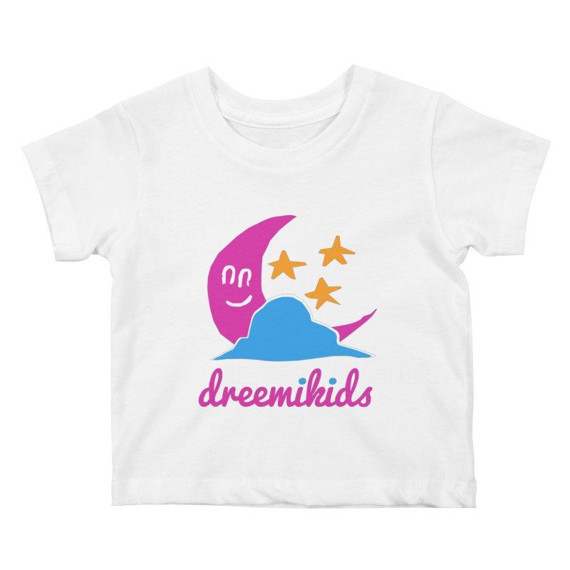 dreemikids Kids Baby T-Shirt by frikkinmunki's Artist Shop
