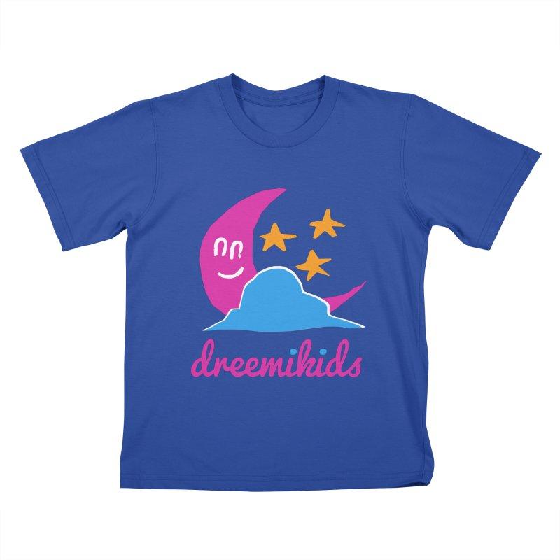 dreemikids Kids T-shirt by frikkinmunki's Artist Shop