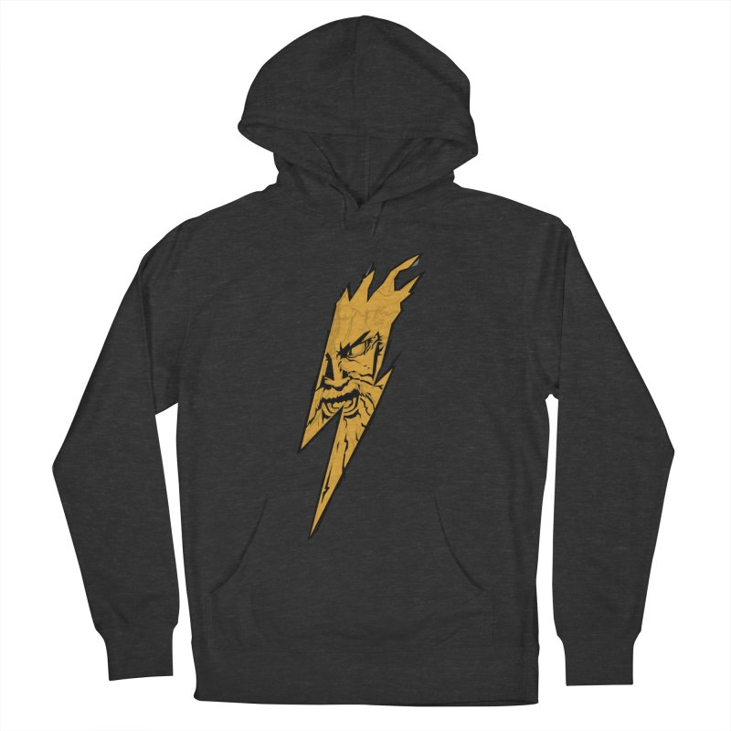 wrath thunder! Men's Pullover Hoody by frikkinmunki's Artist Shop