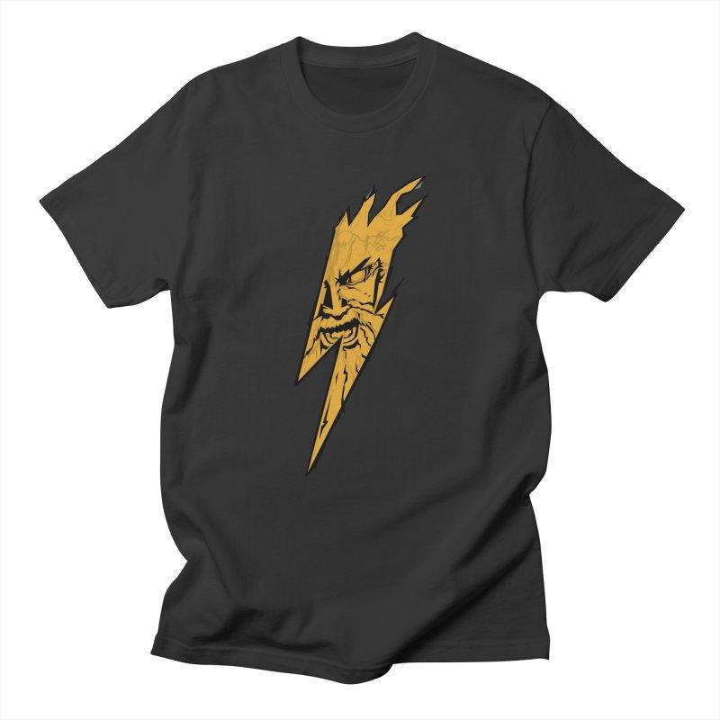 wrath thunder! Men's T-Shirt by frikkinmunki's Artist Shop