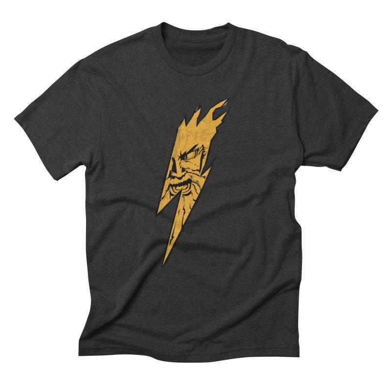 wrath thunder! Men's Triblend T-Shirt by frikkinmunki's Artist Shop
