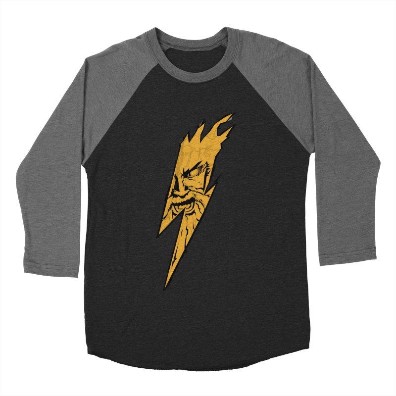 wrath thunder! Men's Baseball Triblend T-Shirt by frikkinmunki's Artist Shop