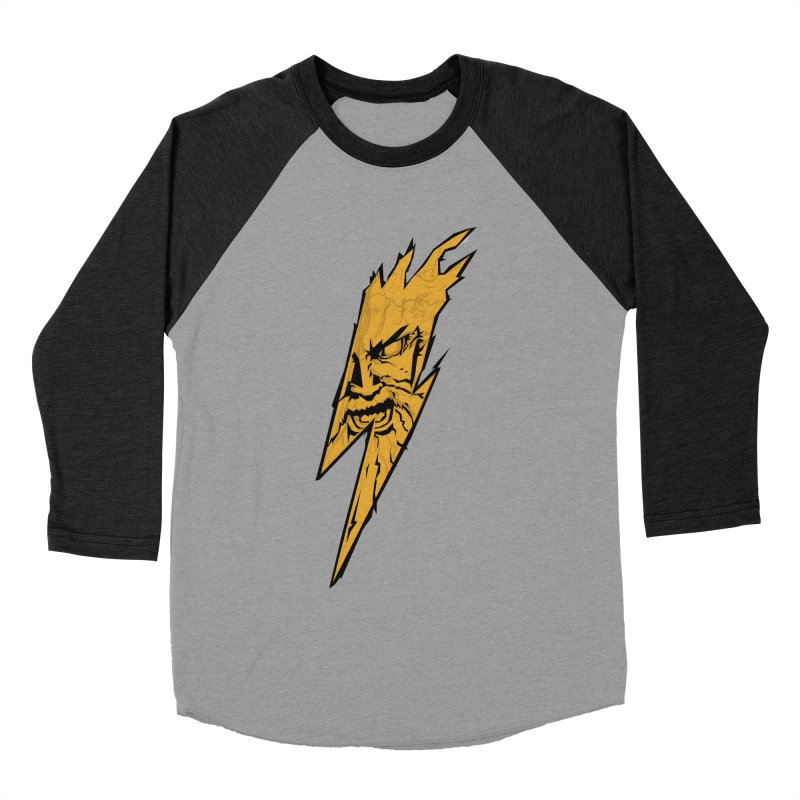 wrath thunder! Men's Baseball Triblend T-Shirt by frikkinmunki's Artist Shop