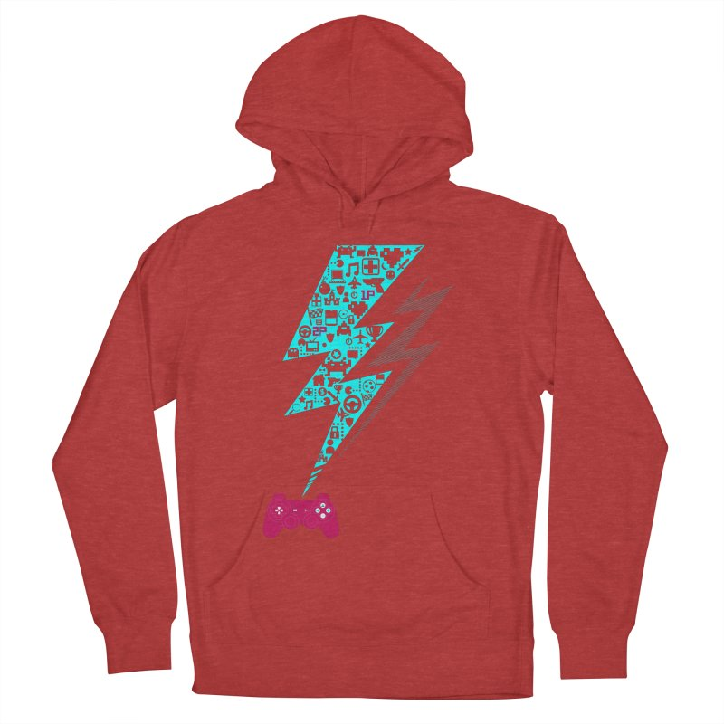 game on Men's Pullover Hoody by frikkinmunki's Artist Shop