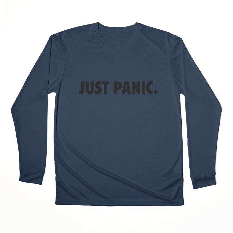 Just panic. Women's Longsleeve T-Shirt by Frilli7 - Artist Shop
