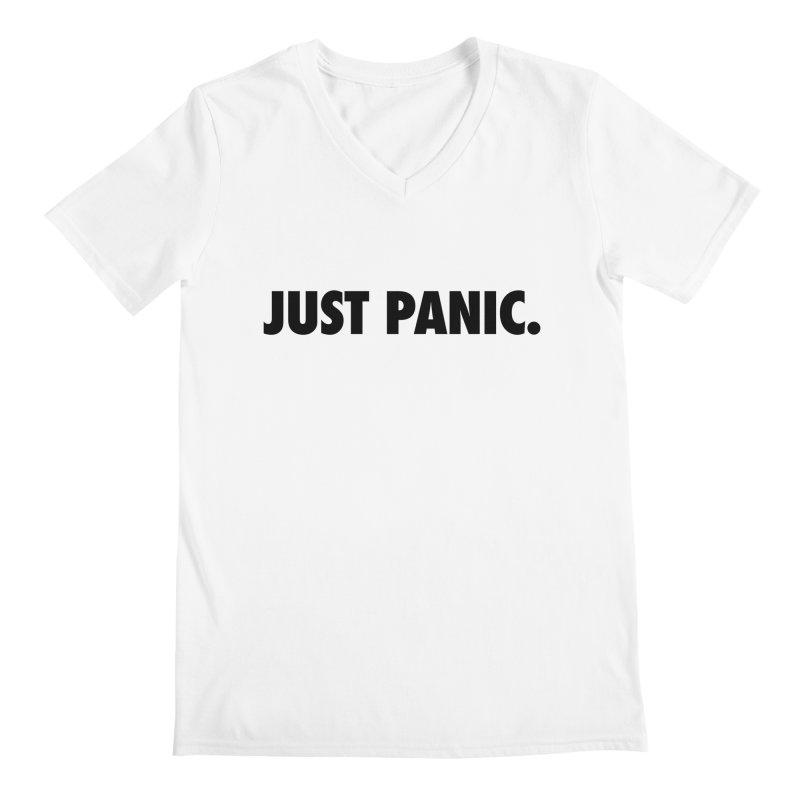 Just panic. Men's V-Neck by Frilli7 - Artist Shop