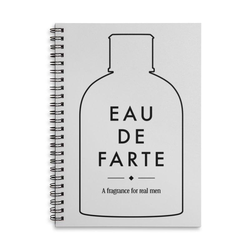 Eau de farte Accessories Notebook by Frilli7 - Artist Shop