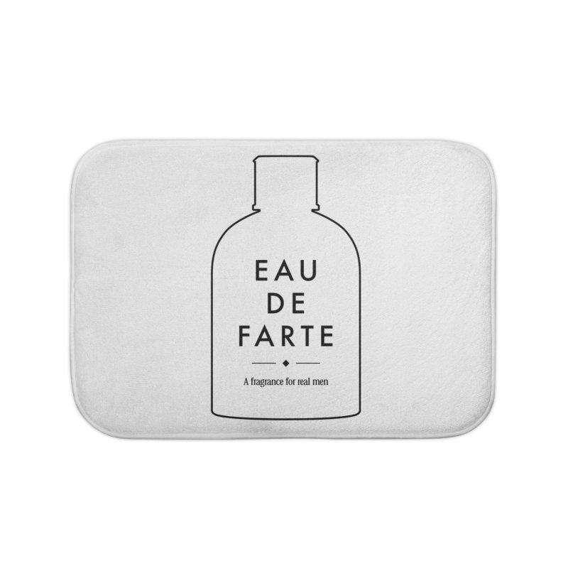 Eau de farte Home Bath Mat by Frilli7 - Artist Shop