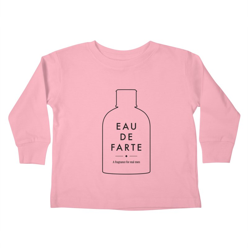 Eau de farte Kids Toddler Longsleeve T-Shirt by Frilli7 - Artist Shop