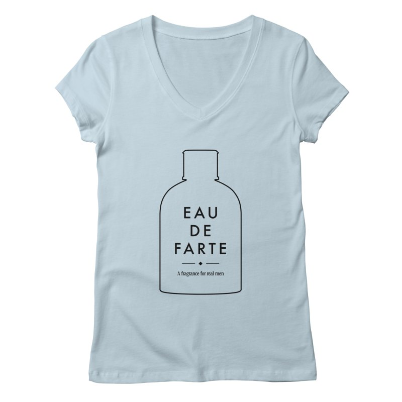 Eau de farte Women's V-Neck by Frilli7 - Artist Shop