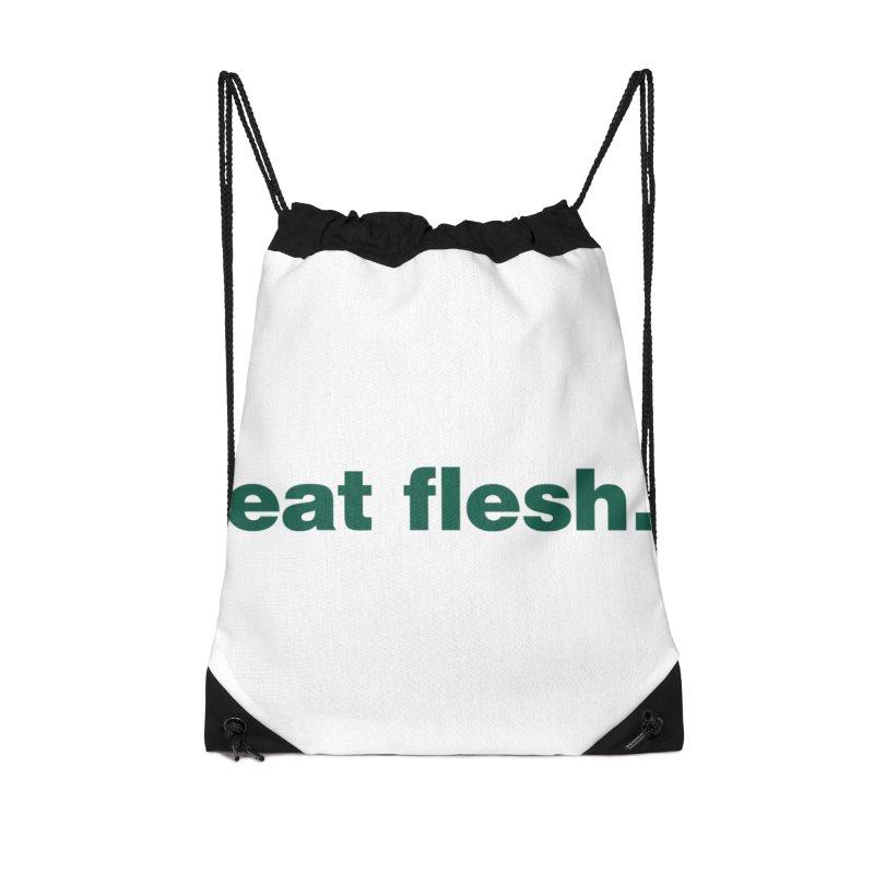 Eat flesh. Accessories Bag by Frilli7 - Artist Shop