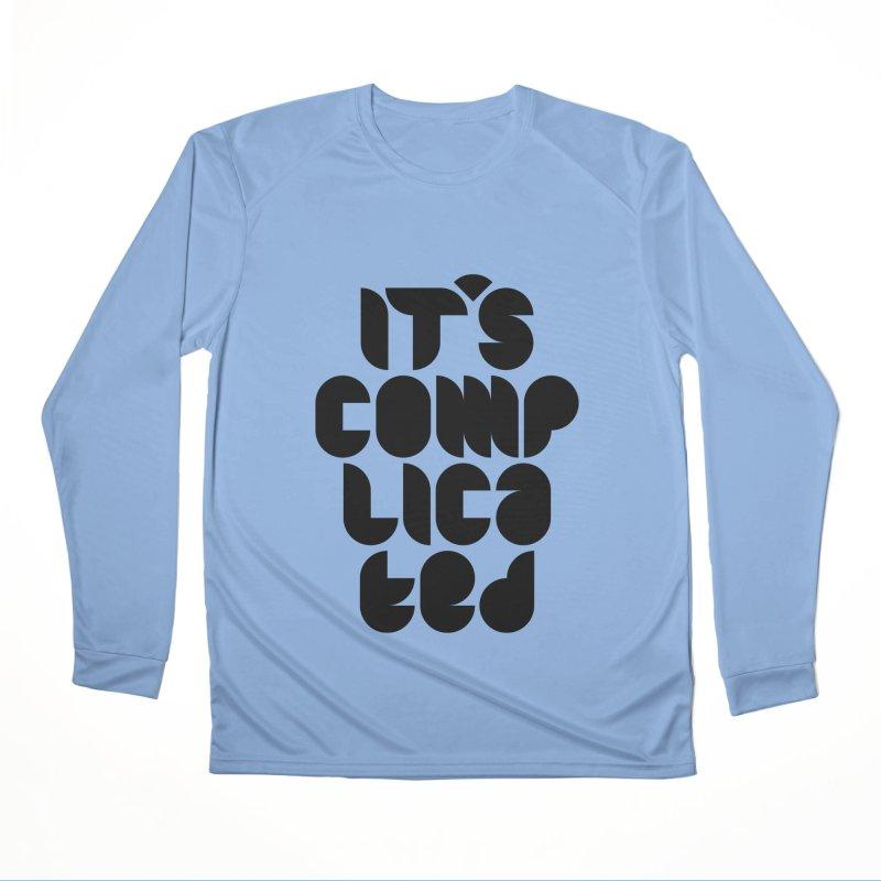 It's complicated Men's Longsleeve T-Shirt by Frilli7 - Artist Shop