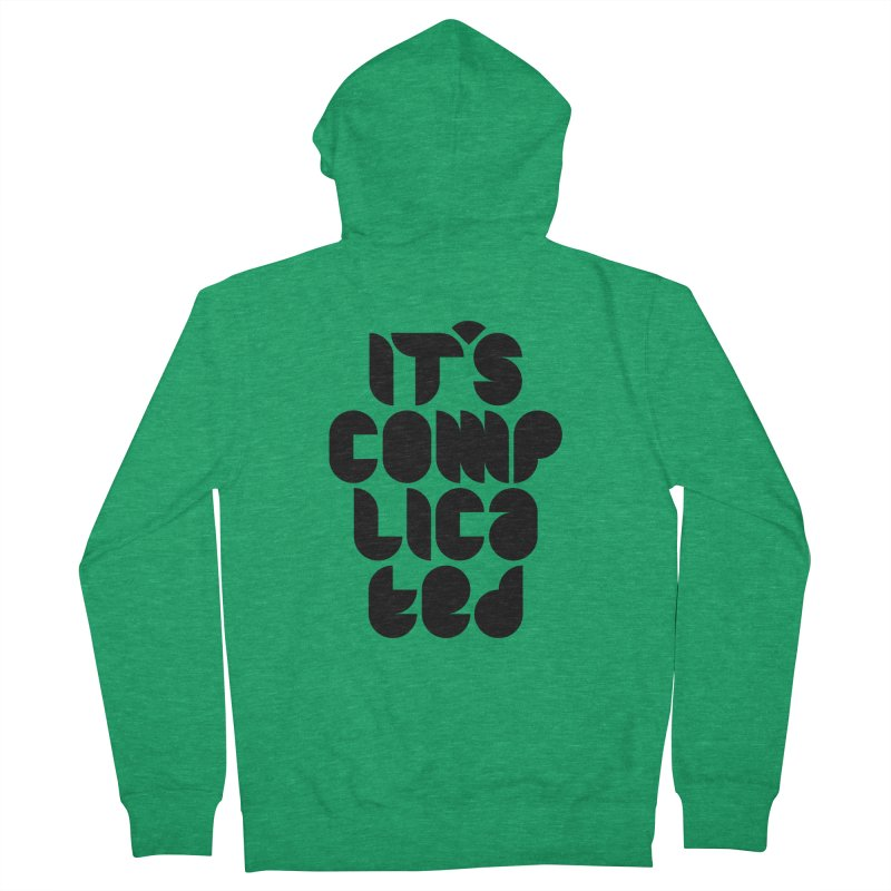 It's complicated Men's Zip-Up Hoody by Frilli7 - Artist Shop