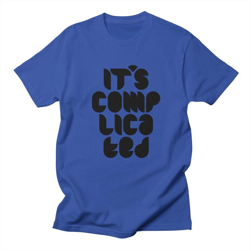 It's complicated Men's T-Shirt by Frilli7 - Artist Shop
