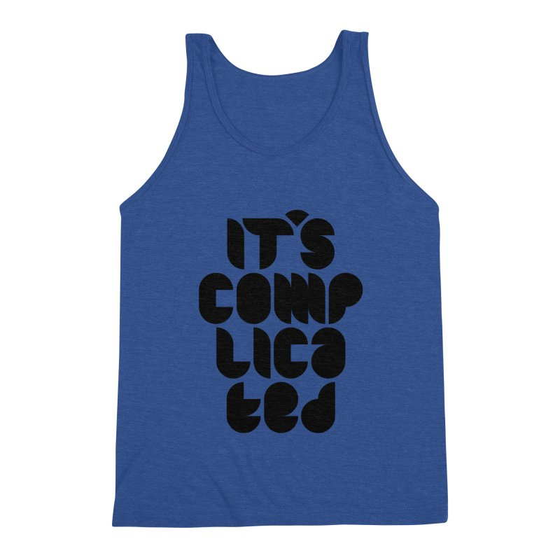 It's complicated Men's Tank by Frilli7 - Artist Shop