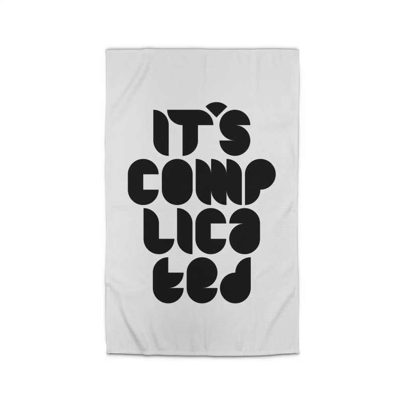 It's complicated Home Rug by Frilli7 - Artist Shop