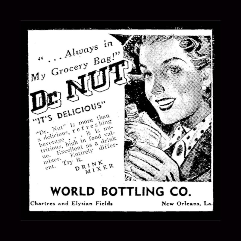 Dr Nut Ad World Bottling Company in New Orleans Accessories Phone Case by Fringe Walkers Shirts n Prints