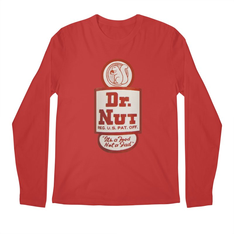 Dr. Nut Soda New Orleans Squirrel Confederacy of Dunces World Bottling Company Vintage Soda Shirt Men's Regular Longsleeve T-Shirt by Fringe Walkers Shirts n Prints