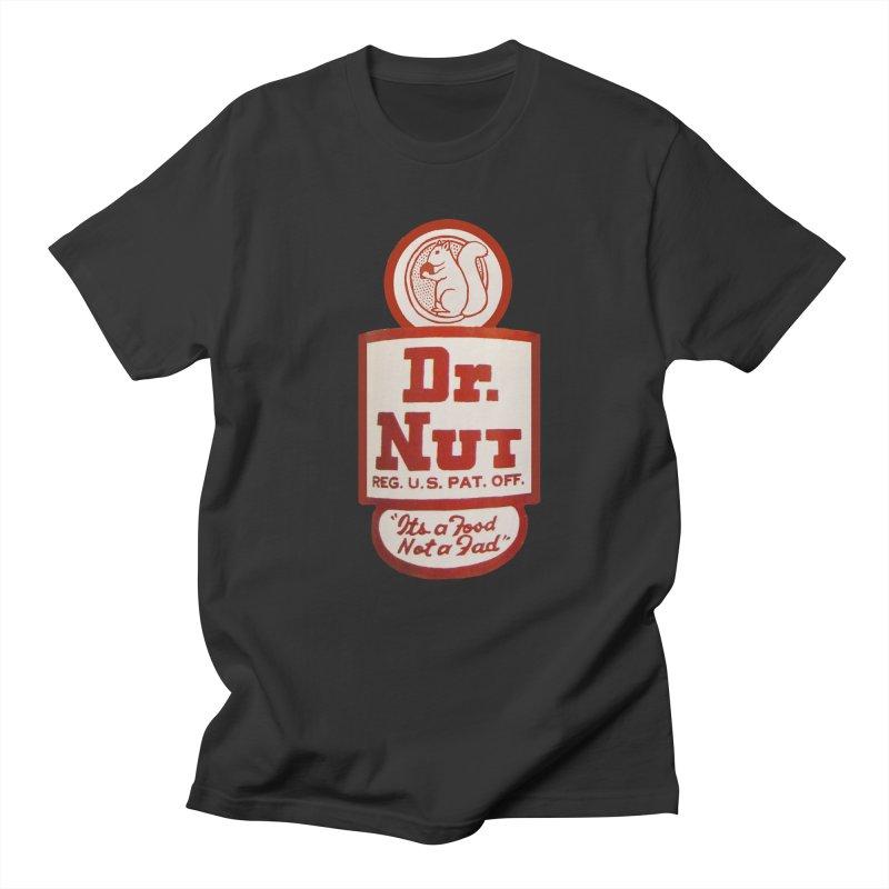Dr. Nut Soda New Orleans Squirrel Confederacy of Dunces World Bottling Company Vintage Soda Shirt Men's Regular T-Shirt by Fringe Walkers Shirts n Prints