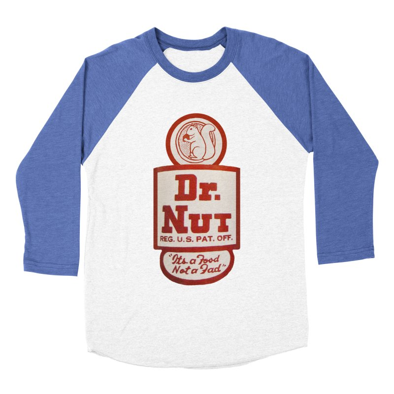 Dr. Nut Soda New Orleans Squirrel Confederacy of Dunces World Bottling Company Vintage Soda Shirt Women's Baseball Triblend Longsleeve T-Shirt by Fringe Walkers Shirts n Prints