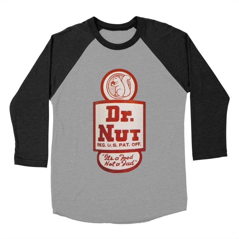 Dr. Nut Soda New Orleans Squirrel Confederacy of Dunces World Bottling Company Vintage Soda Shirt Women's Baseball Triblend Longsleeve T-Shirt by Fringe Walkers Shirts n Prints