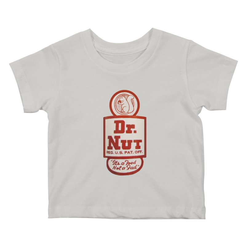 Dr. Nut Soda New Orleans Squirrel Confederacy of Dunces World Bottling Company Vintage Soda Shirt Kids Baby T-Shirt by Fringe Walkers Shirts n Prints