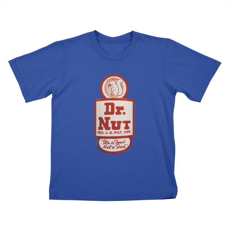 Dr. Nut Soda New Orleans Squirrel Confederacy of Dunces World Bottling Company Vintage Soda Shirt Kids T-Shirt by Fringe Walkers Shirts n Prints