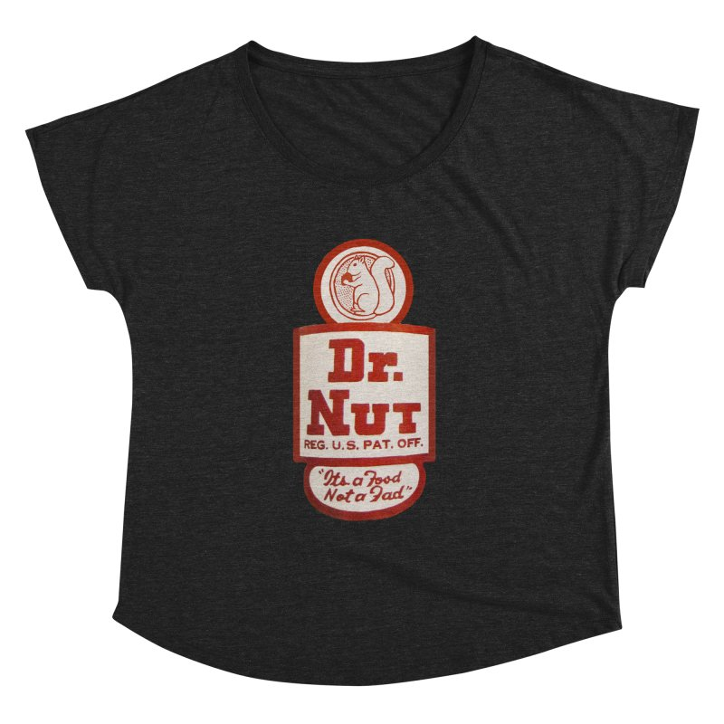 Dr. Nut Soda New Orleans Squirrel Confederacy of Dunces World Bottling Company Vintage Soda Shirt Women's Dolman by Fringe Walkers Shirts n Prints