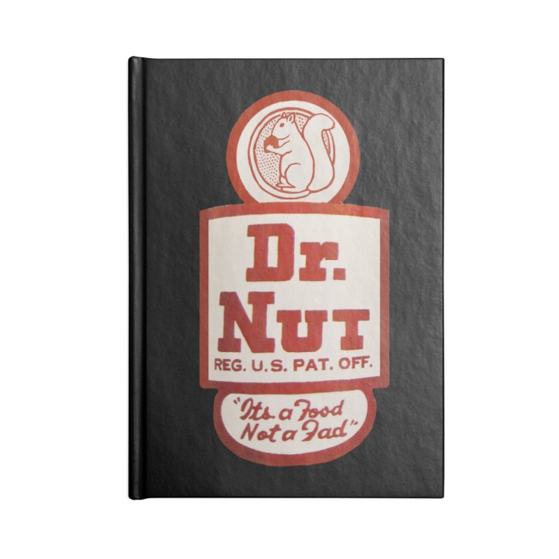 Dr. Nut Soda New Orleans Squirrel Confederacy of Dunces World Bottling Company Vintage Soda Shirt Accessories Lined Journal Notebook by Fringe Walkers Shirts n Prints