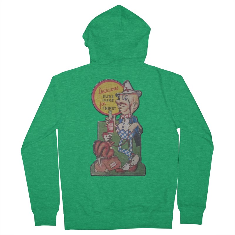 Dr Nut Vintage Soda Ad Squirrel World Bottling Company New Orleans Confederacy of Dunces Shirt Men's Zip-Up Hoody by Fringe Walkers Shirts n Prints