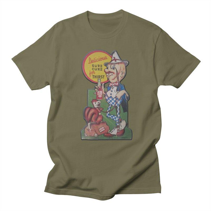 Dr Nut Vintage Soda Ad Squirrel World Bottling Company New Orleans Confederacy of Dunces Shirt Men's Regular T-Shirt by Fringe Walkers Shirts n Prints