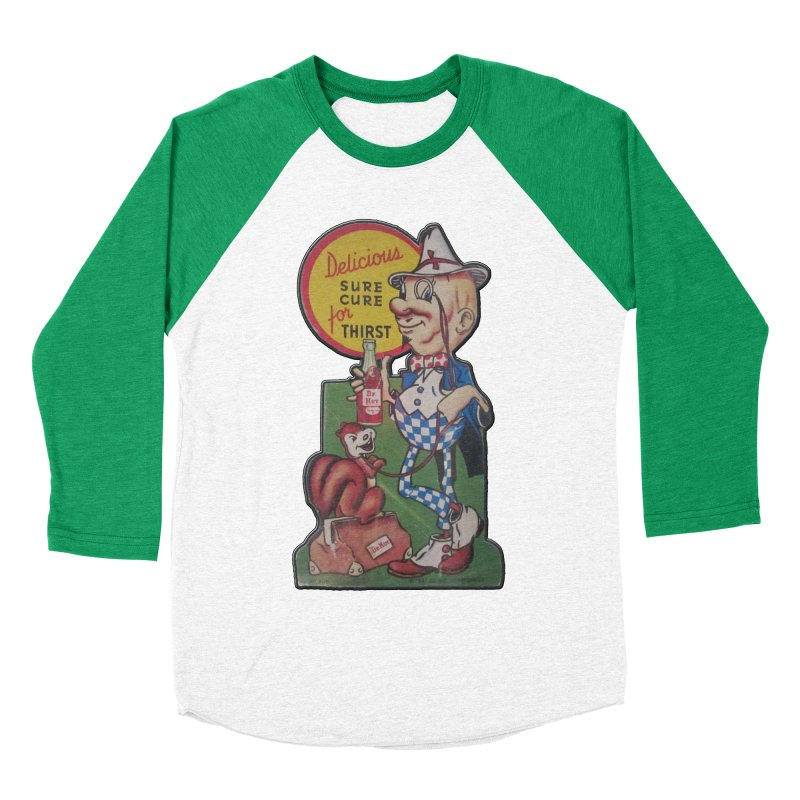 Dr Nut Vintage Soda Ad Squirrel World Bottling Company New Orleans Confederacy of Dunces Shirt Women's Baseball Triblend Longsleeve T-Shirt by Fringe Walkers Shirts n Prints