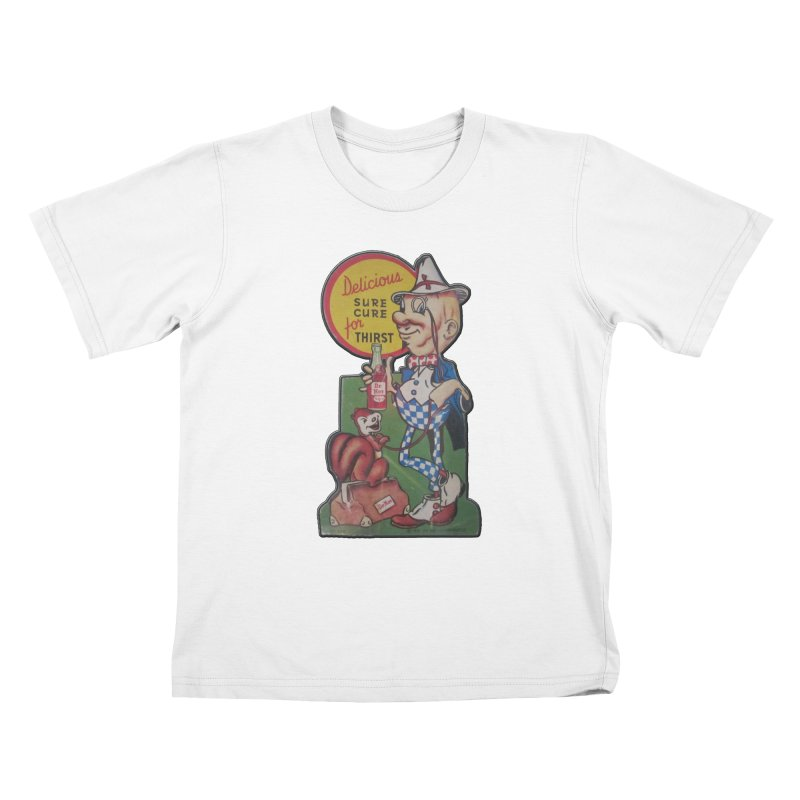 Dr Nut Vintage Soda Ad Squirrel World Bottling Company New Orleans Confederacy of Dunces Shirt Kids T-Shirt by Fringe Walkers Shirts n Prints