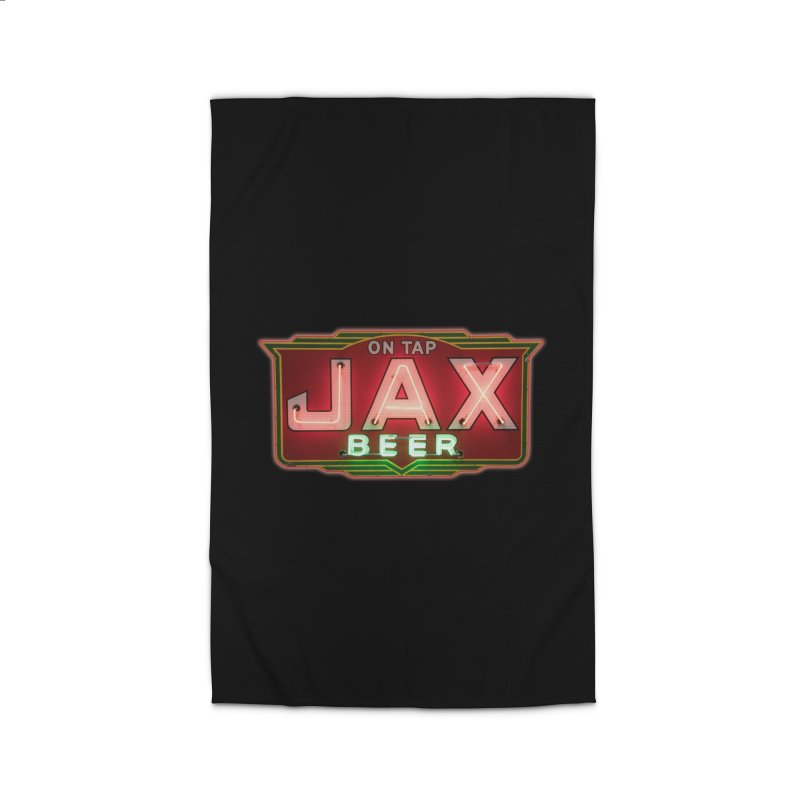 Jax Beer on Tap Vintage Neon Sign Jackson Brewery New Orleans Brewerania Home Rug by Fringe Walkers Shirts n Prints