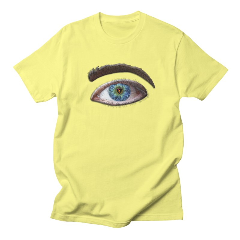 When you see the world through a broken heart Blue Green eye sadness empathy humanism love Women's Regular Unisex T-Shirt by Fringe Walkers Shirts n Prints