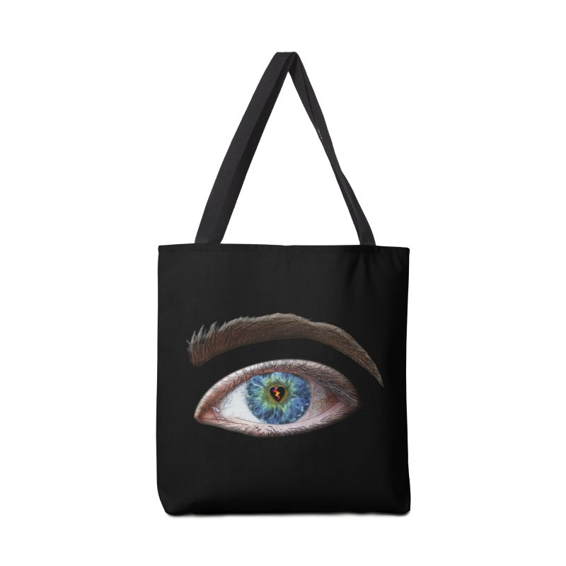 When you see the world through a broken heart Blue Green eye sadness empathy humanism love Accessories Bag by Fringe Walkers Shirts n Prints