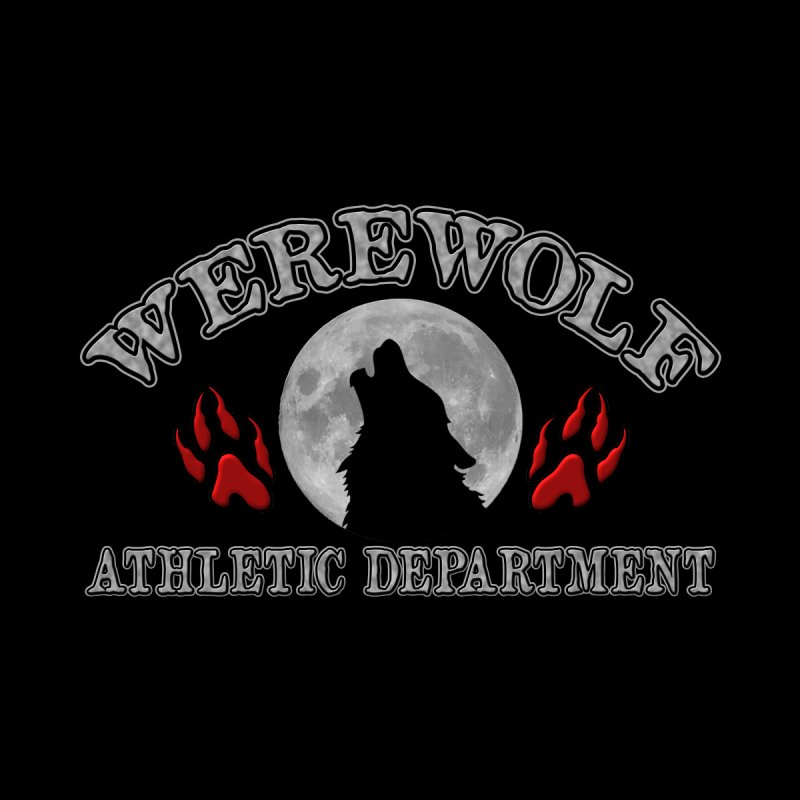 Werewolf Athletic Department Full Moon Howling Wolf Crew Animagus Shape Shifter Moonlight Women's Longsleeve T-Shirt by Fringe Walkers Shirts n Prints