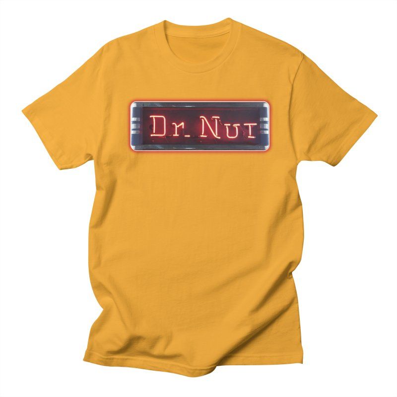 Dr Nut Neon Advertising Sign Vintage Soda Reproduction Ad New Orleans World Bottling Company Women's Unisex T-Shirt by Fringe Walkers Shirts n Prints