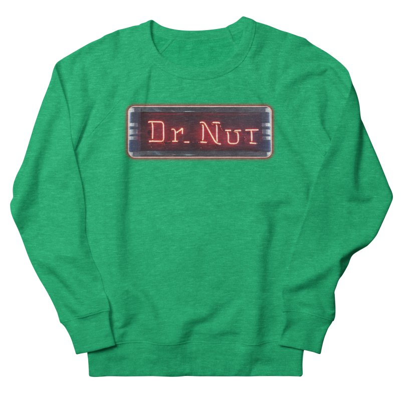 Dr Nut Neon Advertising Sign Vintage Soda Reproduction Ad New Orleans World Bottling Company Women's Sweatshirt by Fringe Walkers Shirts n Prints