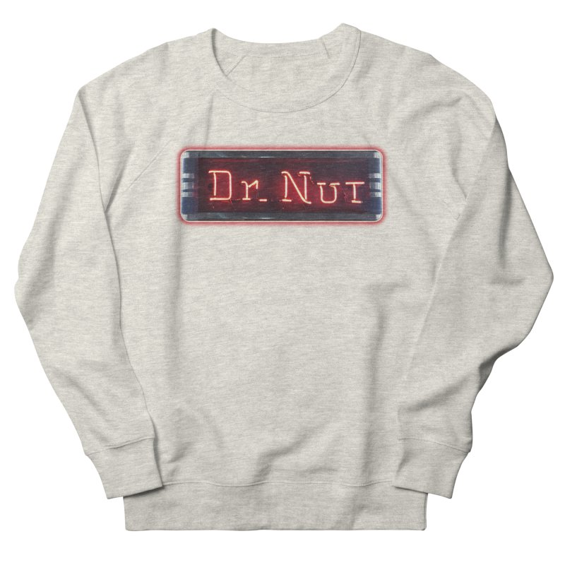 Dr Nut Neon Advertising Sign Vintage Soda Reproduction Ad New Orleans World Bottling Company Men's French Terry Sweatshirt by Fringe Walkers Shirts n Prints
