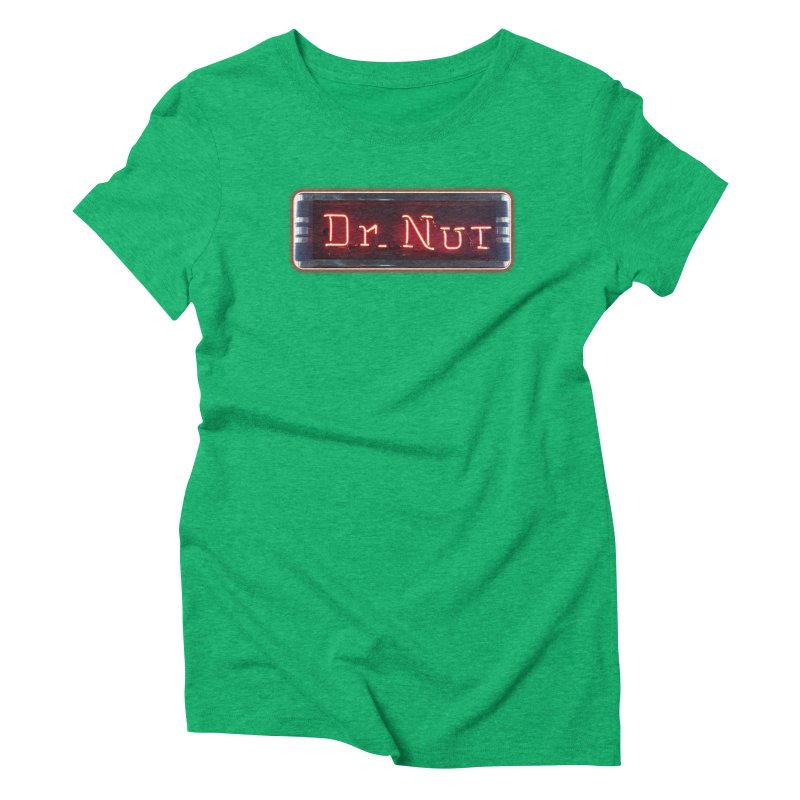Dr Nut Neon Advertising Sign Vintage Soda Reproduction Ad New Orleans World Bottling Company Women's T-Shirt by Fringe Walkers Shirts n Prints