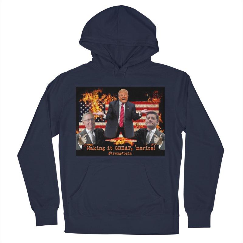 Trumptopia Women's Pullover Hoody by Fringe Walkers Shirts n Prints