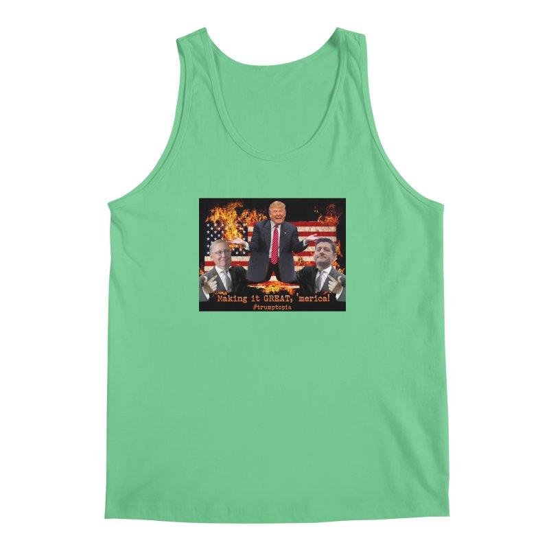 Trumptopia Men's Regular Tank by Fringe Walkers Shirts n Prints