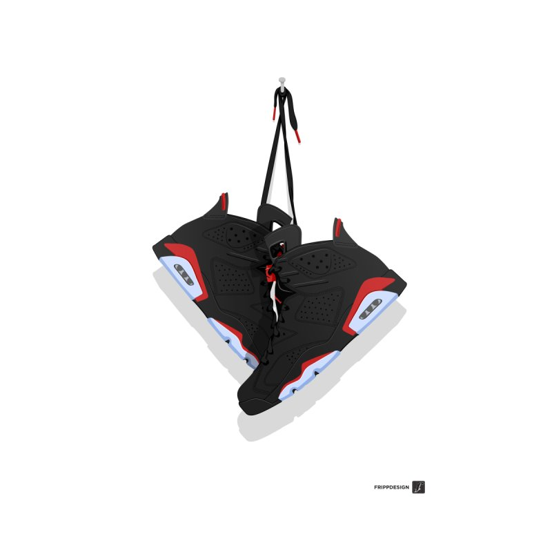 Air Jordan 6 Hanging Kicks Illustration by frippdesign's Artist Shop