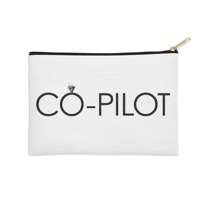 Co-Pilot Aero Inspired Engagement/Wedding Diamond Ring Accessories Zip Pouch by frippdesign's Artist Shop