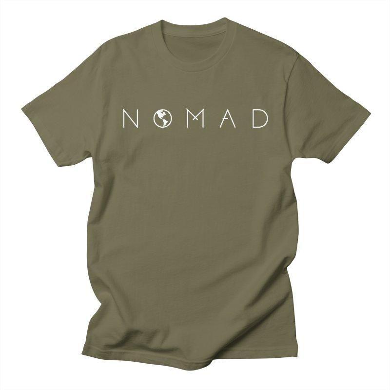 Nomad World Travel: Adventure, Wanderlust, Explorer Women's Unisex T-Shirt by frippdesign's Artist Shop