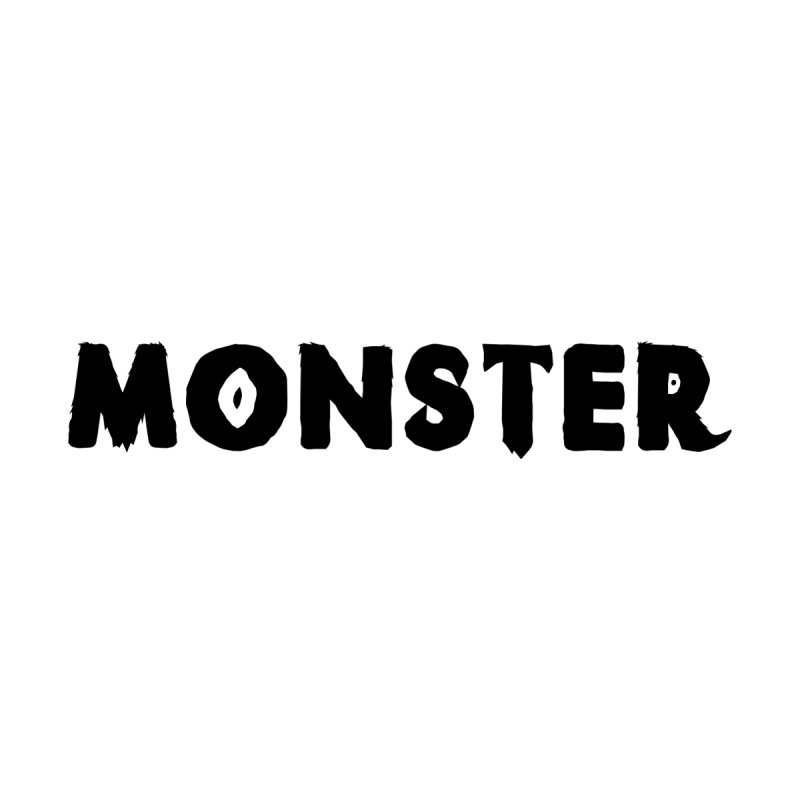 Little Monster Playful Type Kids apparel by frippdesign's Artist Shop